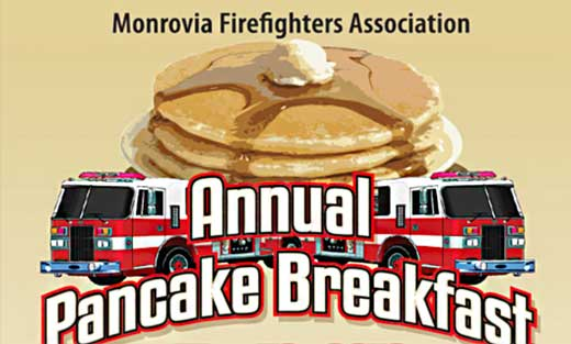 Monrovia Firefighters Association Annual Pancake Breakfast