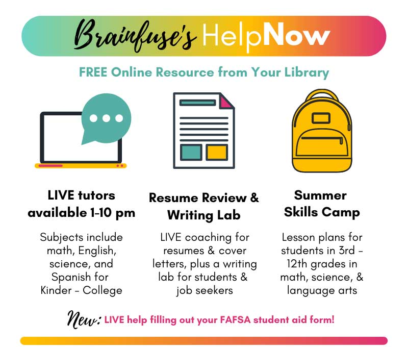 Brainfuse's HelpNow Flyer